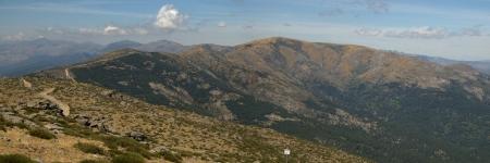 Panoramica hacia Gredos