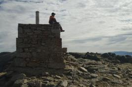 En la cima del Torreon