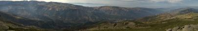 Panoramica del Valle del Jerte
