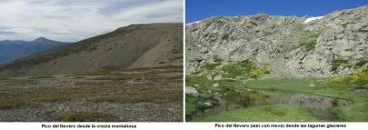 Comparativas del Pico del Nevero