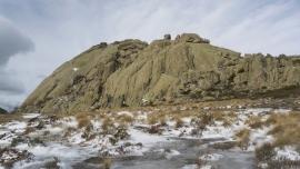 Base del Yelmo - Cara Sur