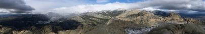 Panoramica desde El Yelmo