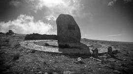 Cumbre de la Peña Cebollera - Monumento a los Forestales
