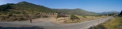 Panoramica del Puerto de la Morcuera