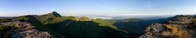 Panoramica desde el Pico de la Miel