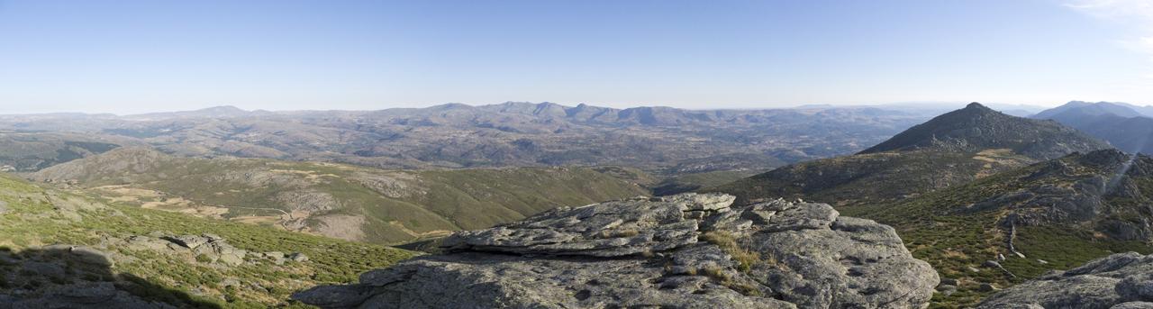 Panoramica de la Sierra de la Paramera