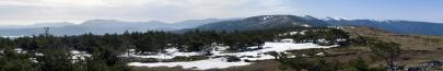 Panoramica hacia el sur de la Peña Berrocosa