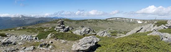 Panoramica en la Cumbre del Peñacabra - Parrinoso