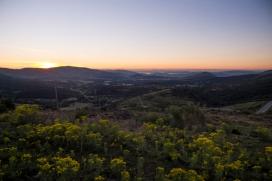 Amanece sobre el Ebro