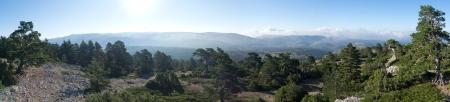 Panoramiac hacia el Sur del Calderon