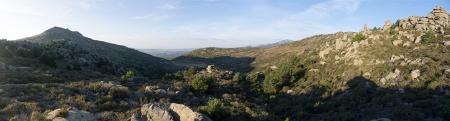 Panoramica Macizo del Pendon