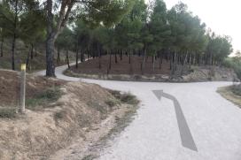 Hacia el Barranco de la Zarza