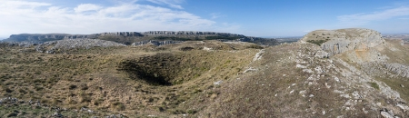 Panoramica cima del Castillo