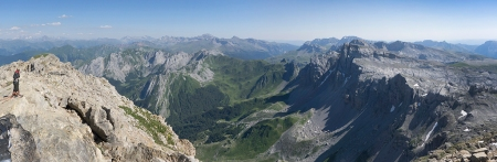 Panoramica grandes Pirineos
