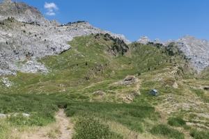 Refugio de pastores y subida