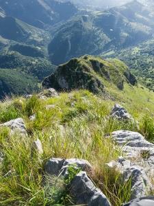 Cresta con terreno mixto