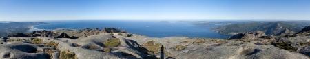 Panoramica desde la cumbre de Moa